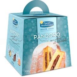 Piaceri Mediterranei Pandoro con Crema al Cioccolato Senza Glutine 700g