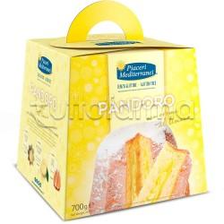 Piaceri Mediterranei Pandoro con Crema al Limone Senza Glutine 700g