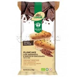 Probios Altri Cereali Plumcake con Amaranto e Gocce di Cioccolato Senza Glutine 180g