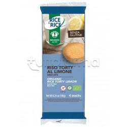 Probios Rice&Rice Riso Torty al Limone Senza Glutine 4 Snack