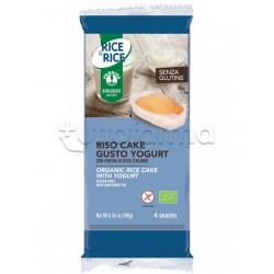 ProbiosRice&Rice Riso Cake allo Yogurt Senza Glutine 4 Snack