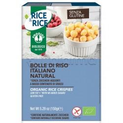 Probios Rice&Rice Bolle di Riso Senza Glutine 150g