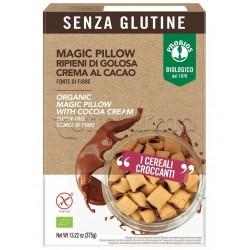 Probios Magic Pillow Cereali Ripieni di Crema al Cacao Senza Glutine 375g