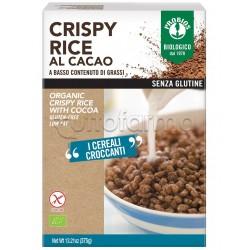 Probios Crispy Rice Cereali al Cacao Senza Glutine 375g