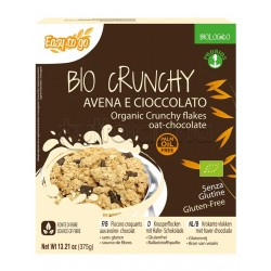 Probios Crunchy Cereali con Avena e Cioccolato Senza Glutine 375g