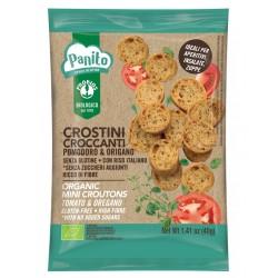 Probios Panito Crostini Croccanti Pomodoro e Origano Senza Glutine 40g