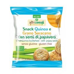 Probios Altri Cereali Snack Quinoa e Grano Saraceno Senza Glutine 35g