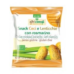 Probios Altri Cereali Snack Ceci e Lenticchie con Rosmarino Senza Glutine 35g