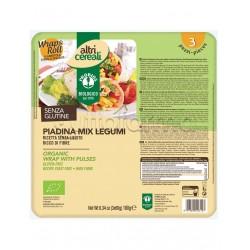 Probios Altri Cereali Piadina Mix di Legumi Senza Glutine 3 Pezzi