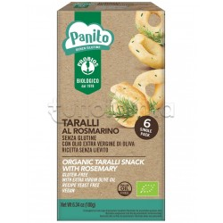 Probios Panito Taralli al Rosmarino Senza Glutine 6x30g