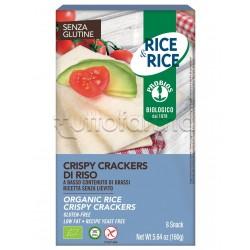 Probios Rice&Rice Crispy Crackers di Riso Senza Glutine 160g