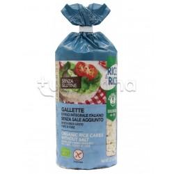 Probios Rice&Rice Gallette di Riso con Sale Senza Glutine 100g