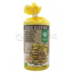 Probios Gallette di Riso Nero e Curcuma Senza Glutine 100g