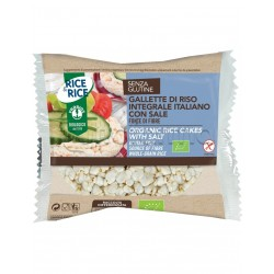 Probios Rice&Rice Gallette di Riso con Sale Senza Glutine 13g