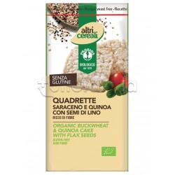 Probios Altri Cereali Quadrette di Saraceno e Quinoa Senza Glutine 130g
