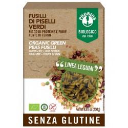 Probios Pasta Fusilli di Piselli Verdi Senza Glutine 250g