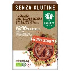 Probios Pasta Fusilli di Lenticchie Rosse Senza Glutine 250g