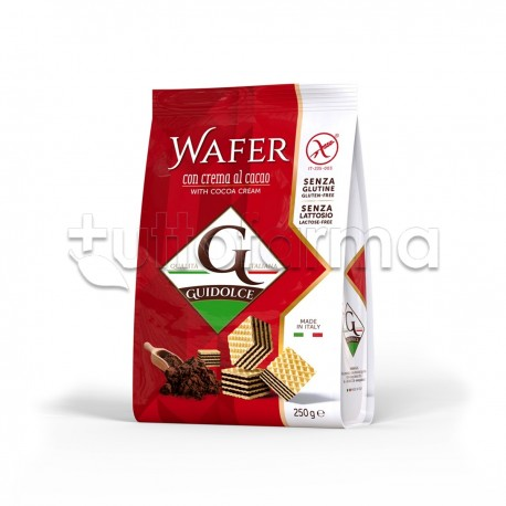 Guidolce Wafer Gusto Cacao Senza Glutine 250g