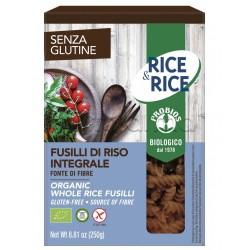 Probios Rice&Rice Pasta Fusilli di Riso Integrale Senza Glutine 250g