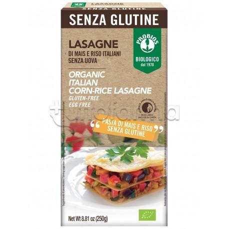 Probios Lasagne di Mais e Riso Senza Glutine 250g