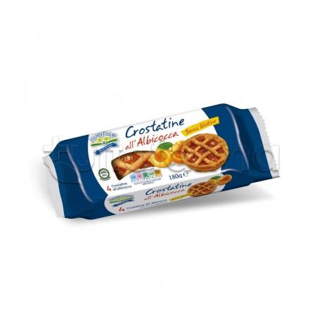 Happy Farm Crostatine all'Albicocca Senza Glutine 180g