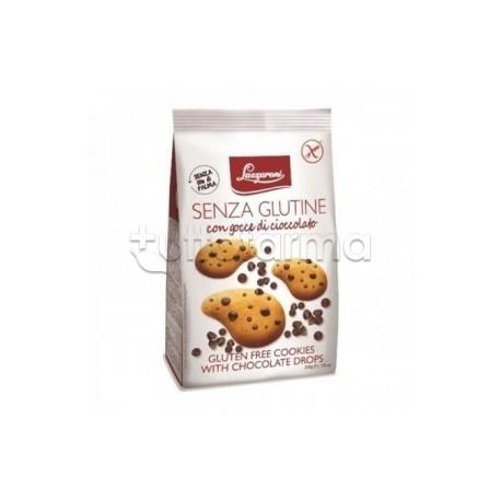 Lazzaroni Frollini con Gocce di Cioccolato Senza Glutine 200g