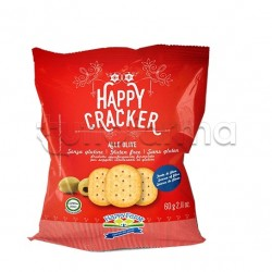 Happy Farm Cracker alle Olive Senza Glutine 60g