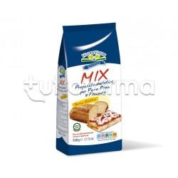 Happy Farm Farina Mix per Pane, Pizza e Focacce Senza Glutine 500g