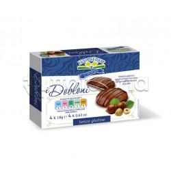 Happy Farm Pasticcini Dobloni al Cioccolato Senza Glutine 48g