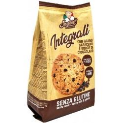 Inglese Biscotti Integrali al Grano Saraceno con Gocce di Cioccolato Senza Glutine 300g