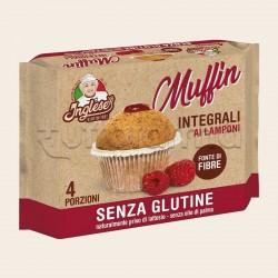 Inglese Muffin Integrale ai Lamponi Senza Glutine 4X40g