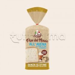 Inglese Pan del Nonno all'Avena con Semi di Lino e Girasole Senza Glutine 300g