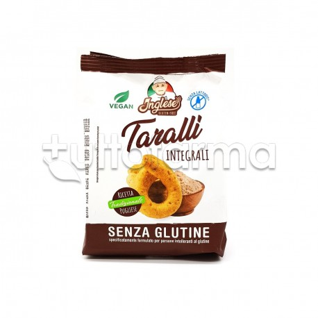 Inglese Taralli Integrali Senza Glutine 180g