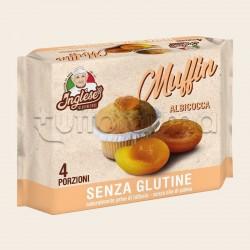 Inglese Muffin all'Albicocca Senza Glutine 4 Porzioni