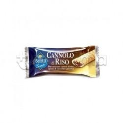 Scotti Cannolo di Riso Ripieno al Cioccolato Senza Glutine 25g