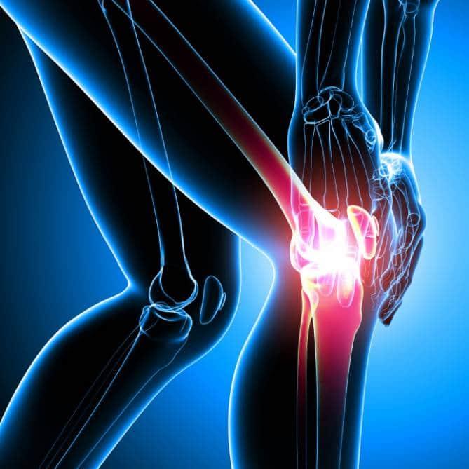 dolori alle ginocchia a 50 anni